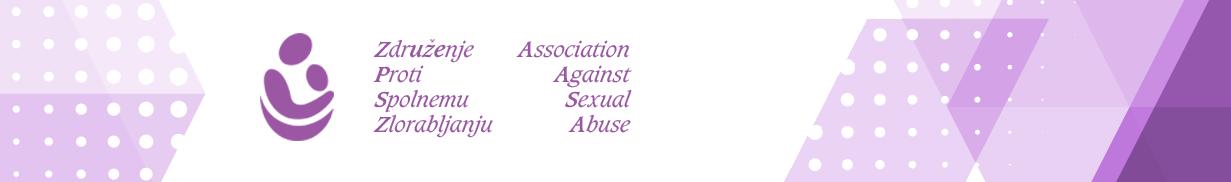 Združenje proti spolnemu zlorabljanju Logo