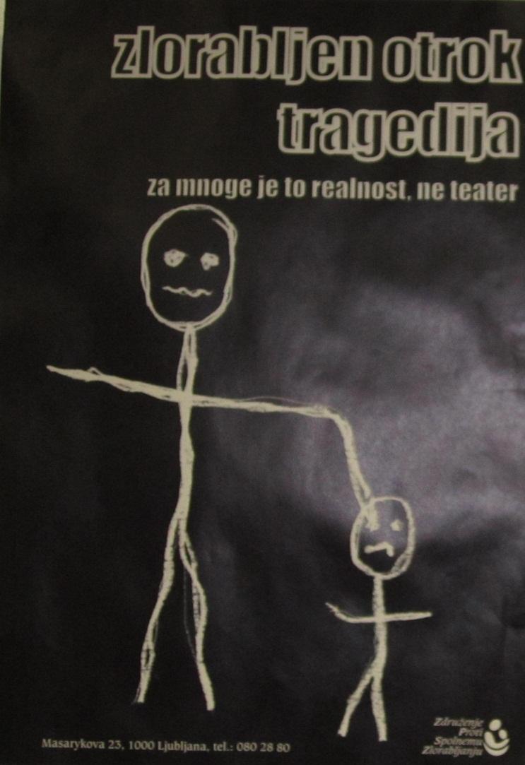 Zlorabljen otrok - tragedija